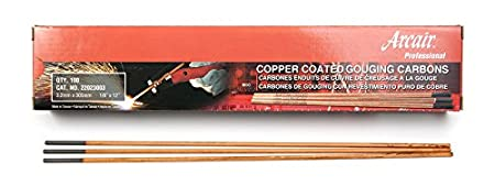 Victor Arcair 22082003 Gouging Electrodes Pointed Copperclad DC, 1/2 x 14-Inch Builders World Wholesale Distribution