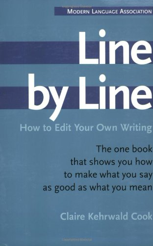 Line by Line: How to Edit Your Own Writing by Houghton Mifflin Harcourt