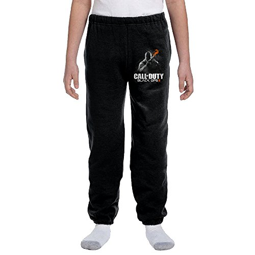 Price comparison product image Black Ops 2 CALL OF DUTY Youth Unisex Sport Black Sweatpants