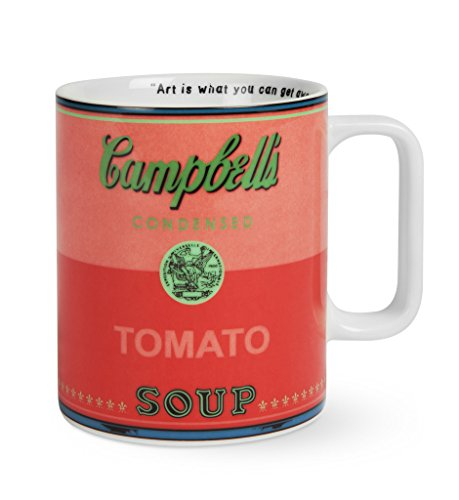 Andy Warhol Soup Mug