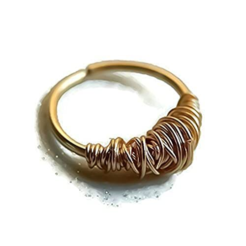 Gold Wire Wrapped Rings | Wire Wrapped Rings Amazon Com