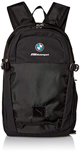 - PUMA Men's BMW Motorsport Backpack, black, One Size