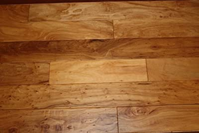 "Elk Mountain Elm Natural 9/16"" x 5"" Hand Scraped Engineered Hardwood Flooring AF070 SAMPLE"