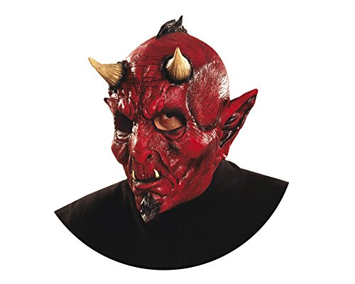 (Viving Costumes 200372 Evil Mask, Multi Color, One)