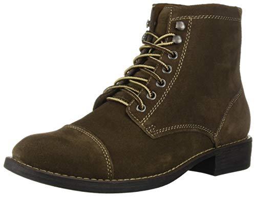(Eastland Shoes HIGH Fidelity Fashion Boot, Khaki Suede, 11.5)