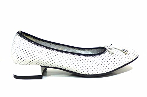 Flexx Lone Women's The Bianco Flats Ballet Bow white wOxqpqRad