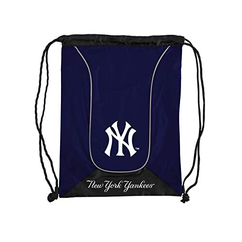 (Officially Licensed MLB New York Yankees Doubleheader Backsack, 18-Inch, Navy)