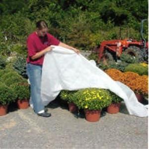 DeWitt Deluxe .5 oz 12' x 300' Frost Freeze Protection Cloth Germination Blanket Deluxe12-3