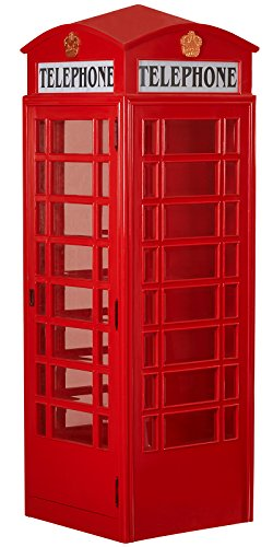 Aahs Engraving Life Size Red Telephone Booth Novelty Cardboard Standup]()