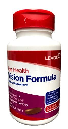 Leader Eye Health Vision Formula, 60 Softgels (Pack of 6) by Leader (Image #3)