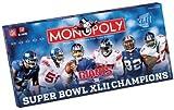 nfl quarterback board game - USAopoly New York Giants NFL Super Bowl Monopoly USA-MN016246