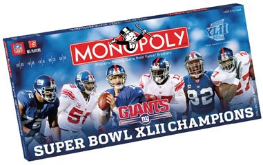 USAopoly New York Giants NFL Super Bowl Monopoly ()