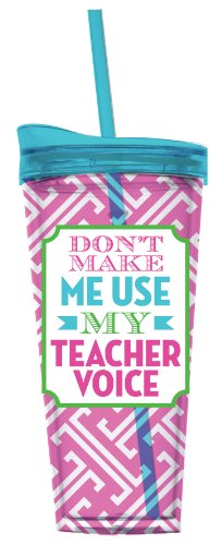 Teacher Voice Tumbler Insulated Slant product image