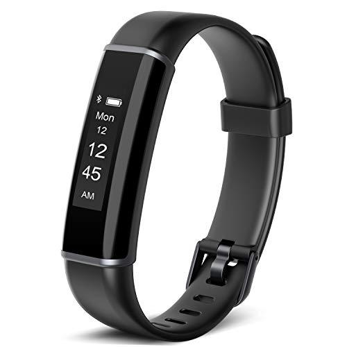 Vigorun Fitness Tracker Watch, Activity Tracker Waterproof Sleep Monitor, Smart Bracelet Wristband Sport Pedometer Armbands Step Tracker Calorie Counter for Kids Women Men (Best Cyber Monday Deals On Fitness Trackers)