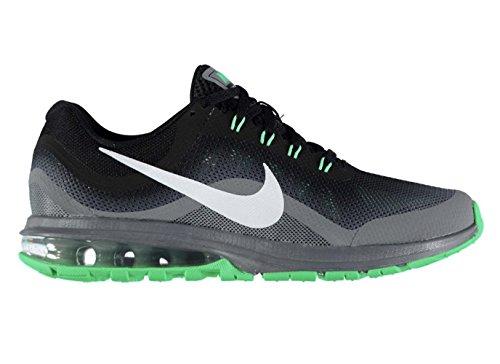 Nike Mens Air Max Dynasty 2 Running Shoe (11 D(M) US, Black/White/Cool Grey/Electro Green)