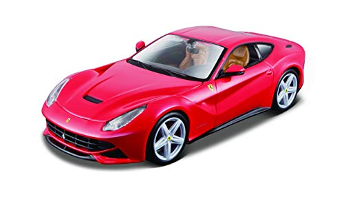 Maisto 1:24 Scale Assembly Line Ferrari F12berlinetta Diecast Model Kit (Colors May ()