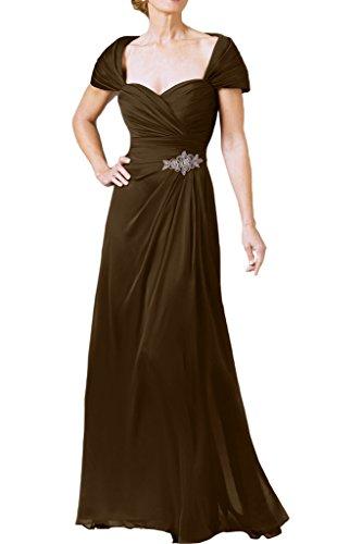 sera abito da Line di 44 Donna ivyd abito ballo cuore forma Stile cioccolato prom di ressing Fest A di in xvxn4RPTwq