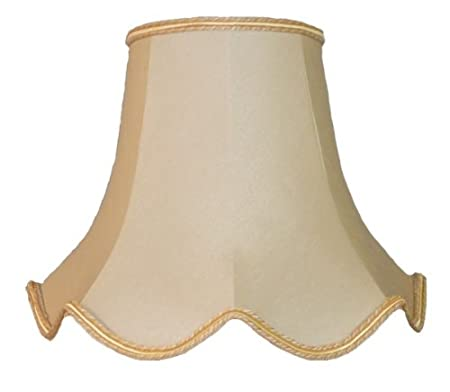 22 inch cream and gold fabric lampshades amazon kitchen home 22 inch cream and gold fabric lampshades aloadofball Images