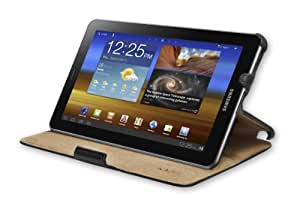 SYBA KAZEE Folio Negro - fundas para tablets (Folio, Negro, Microfibra, Poliuretano, Samsung, Galaxy Tab 7.7, Resistente al polvo, Resistente a rayones, Resistente a golpes)