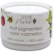 100% Pure: Fruit Pigmented Halo Satin Eye Shadow, .12 oz, Colored with All Natural, Organic Antioxidant and Vitamin Rich Fruit Pigments by 100% Pure