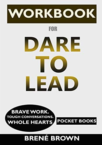 {Pocket Books} - Paperback WORKBOOK for Dare to Lead: Brave Work. Tough Conversations. Whole Hearts
