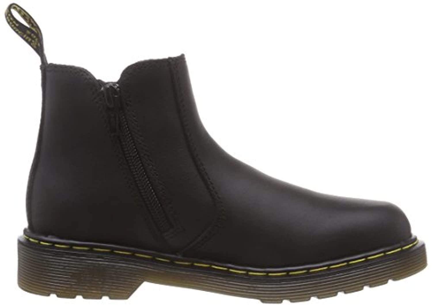 Dr. Martens Banzai Softy T Black, Unisex Kids' Boat Shoes, Black, 2 UK UK (34 EU)