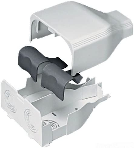 Panduit T45EEEI Power Rated Raceway Entrance End Fitting Electric Ivory