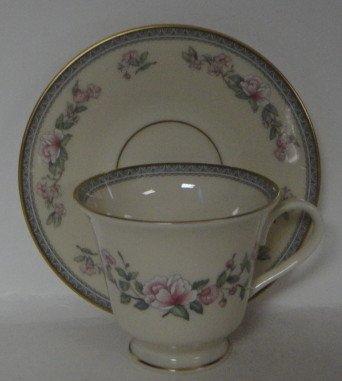 - Lenox Serenade Cup & Saucer (Footed)