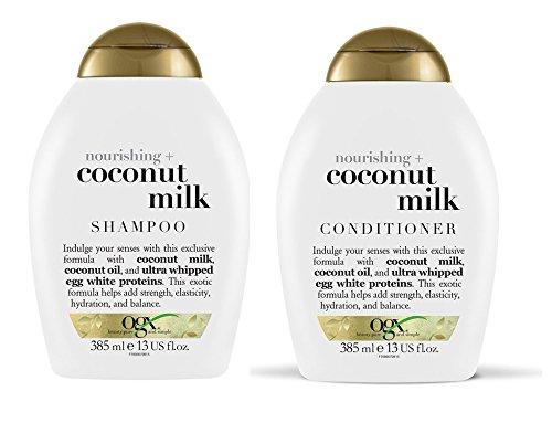 OGX Nourishing Coconut Milk Shampoo & Conditioner (13 (Nourishing Coconut Milk)