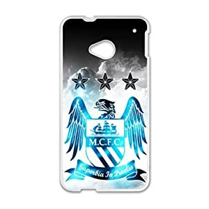 MCFC White htc m7 case