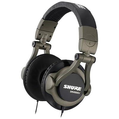 Brand New Shure | SRH550DJ, Ultra-Lightweight Design DJ Headphones, full-Range Audio Performance, 50 mm Dynamic Drivers, 90-Degree Swivel Ear Cups, Legendary Shure quality