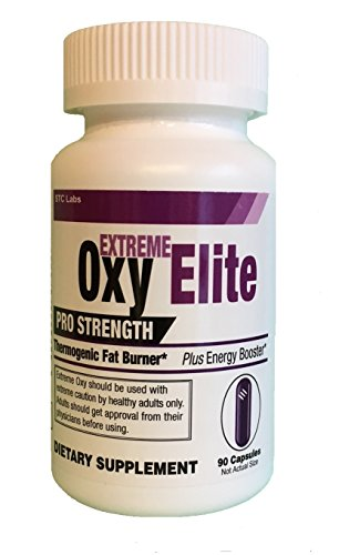Extreme Oxy Elite Pro Strength Thermogenic Fat Burner Weight Loss (Health Plus Fat Burner)