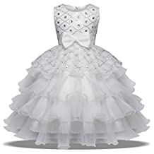 ADHS Flower Girl Formal Special Occasion Prom Party Wedding Gowns Baby Dresses