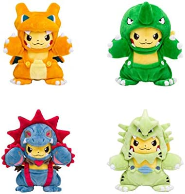 EASTVAPS 2 Piezas Pikachu Serie de travestis muñecos de ...