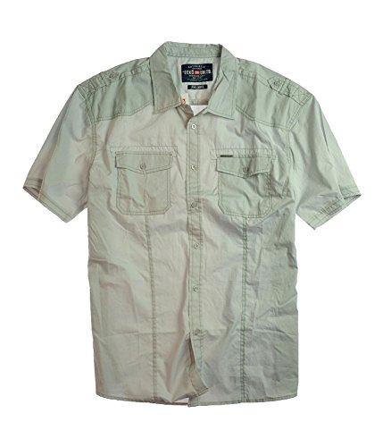 ecko unltd. Men's Don't Fret Short Sleeve Woven Shirt