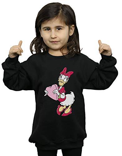 Daisy Girl Duck Felpa Nera Love Disney Heart twBtqE