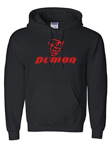 Dodge Demon Mens Hooded Sweatshirt  Medium