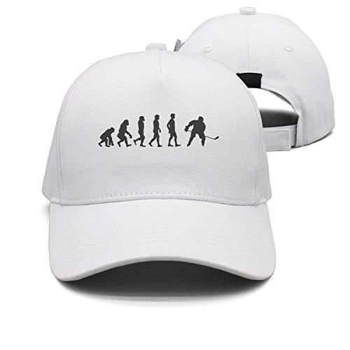 (TOGEFRIEND Cap Evolution Hockey Goalie Dad Hat)