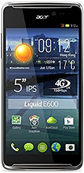 Acer Liquid E600 - Smartphone libre Android (pantalla 5