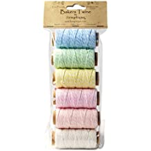 Hemptique Cotton Baker's Twine Spool Set, Mini, Creamy Pastel