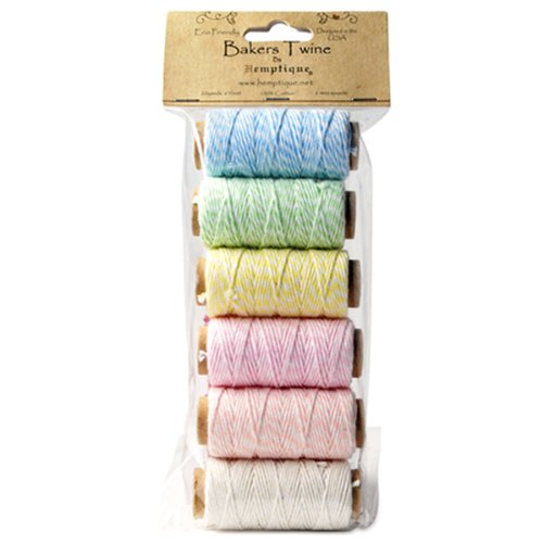 hemptique-cotton-bakers-twine-spool-set-mini-creamy-pastel