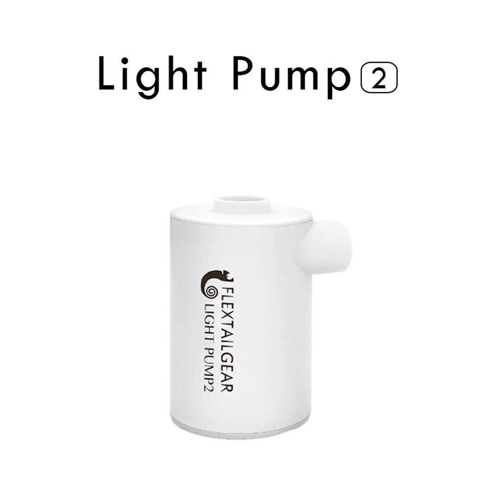 Likero Waterproof Mini Light Electric Air Pump USB Charge for Inflatables Quick Inflate Deflate Tool for Balloon Airbed Aloats Swimming Rings