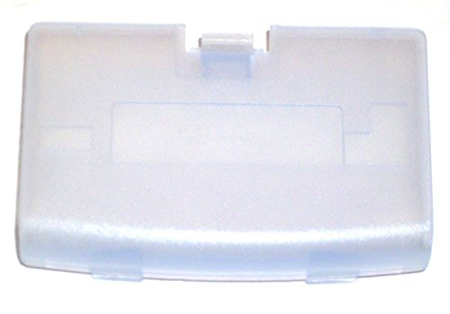 Video Game Accessorie New GLACIER Battery Cover for Game Boy Advance System - GBA Replacement - Wiki Glasses Glacier