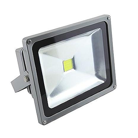 CLE Alugrau - Foco proyector Led 50 W 4000 K: Amazon.es: Iluminación