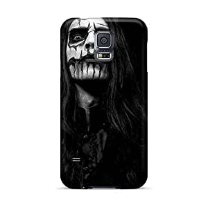Anti-Scratch Hard Phone Cover For Samsung Galaxy S5 (AUn4447UsMv) Support Personal Customs Vivid Cryptopsy Band Skin
