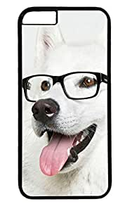 Cute Dog Nice PC Black Case for Masterpiece Limited Design iphone 6 by Cases & Mousepads
