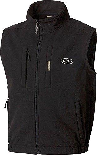 Drake Fleece Vest - MST Layering Vest Black Large