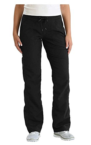Kirkland Signature Ladies Active Woven Pant (Black, Medium Short)