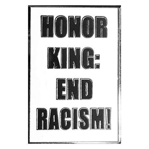 Drumpf.WTF Honor King: End Racism Anti-Hatred, Pro-Justice Civil Rights Black Lives Matter Enamel Pin from Heritage Collection