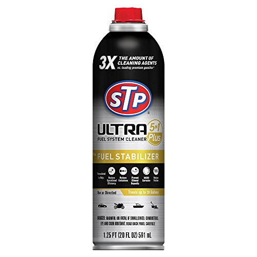 STP 18315 Ultra 5-in-1 Plus Fuel System Cleaner and Fuel Stabilizer, 20 fl. oz.